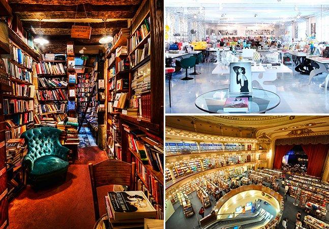 15 livrarias pelo mundo para visitar antes de morrer
