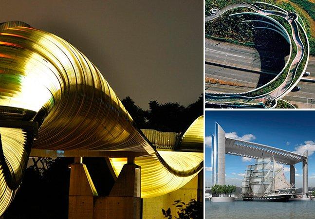 As 15 pontes mais loucas de todos os tempos
