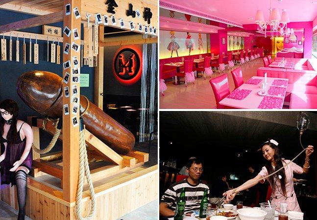 Conheça 5 restaurantes inusitados que você só poderia encontrar em Taiwan