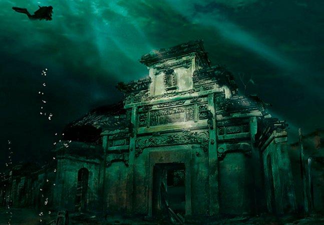 Conheça a cidade milenar encontrada no fundo do mar na China