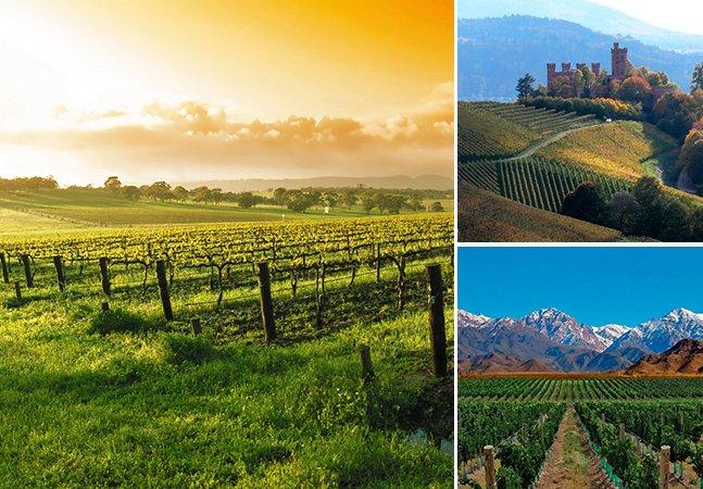 Top 10 destinos para os amantes de vinho curtirem em 2014