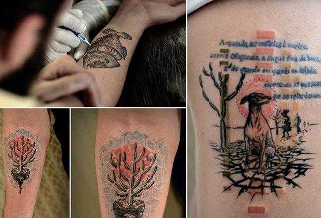 Arte na pele: conheça a tatuagem deste incrível artista brasileiro