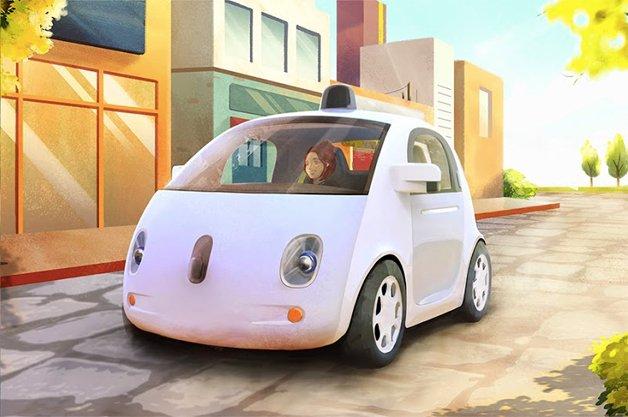 Carro da Google dispensa motorista