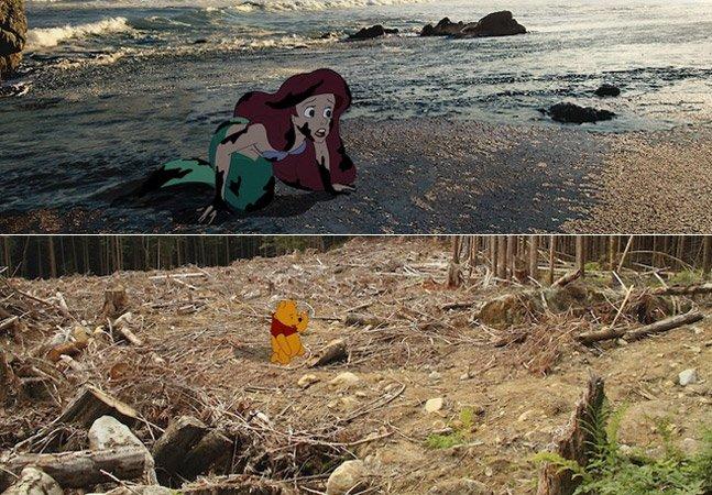 Como seria o final dos personagens da Disney se eles vivessem nos dias de hoje