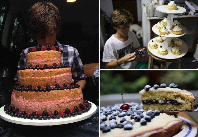 Jovem brasileiro de 13 anos faz sucesso vendendo suas receitas de bolos na internet