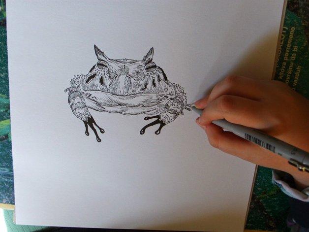 Dusan Krtolica, o incrível artista de 11 anos
