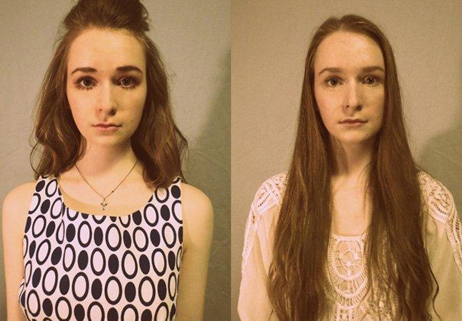 Adolescente de 16 anos cria série mostrando como ela seria se vivesse desde os anos 20 até aos dias de hoje