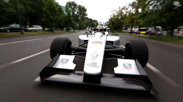 Fórmula E, corrida com carros elétricos