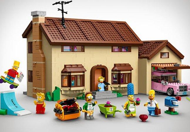 LEGO lança personagens dos Simpsons e promete apaixonar os fãs da série