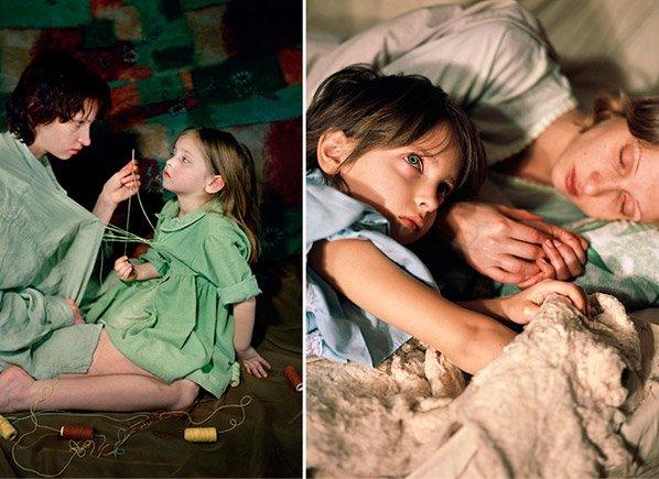 Ensaio fotográfico sensível mostra a relação de intimidade entre mãe e filha
