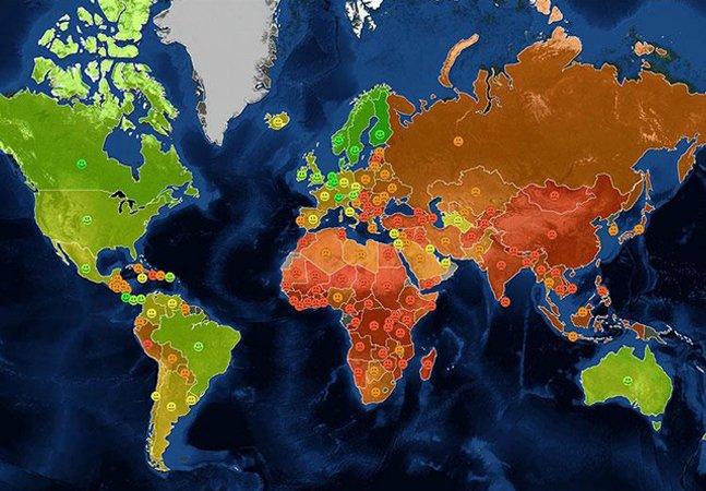 Veja mais 22 mapas que não nos ensinam na escola