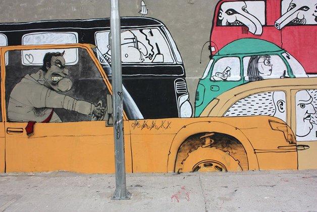 Arte de rua de Paulo Ito