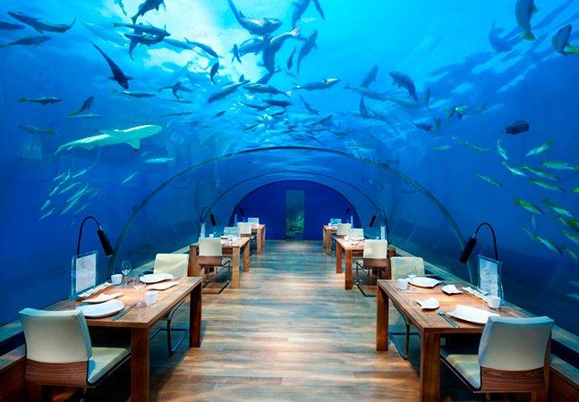 Conheça 10 restaurantes inusitados pelo mundo