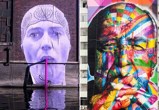 As 10 melhores cidades do mundo para quem gosta de Street Art