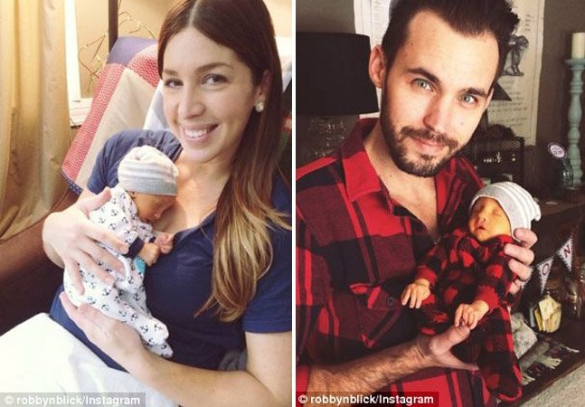 Casal cria vídeo emocionante do filho que nasceu com uma desordem genética e teve apenas 10 dias de vida