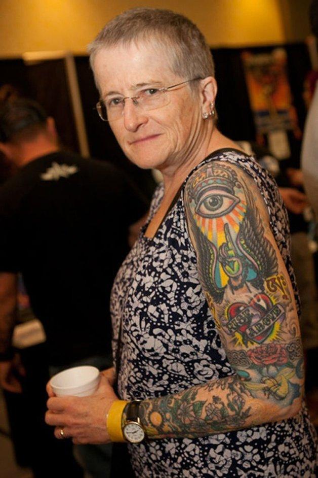 Tatuados idosos
