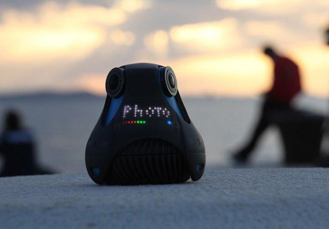 Câmera digital inovadora faz fotos e vídeos em 360 graus. E agora GoPro?