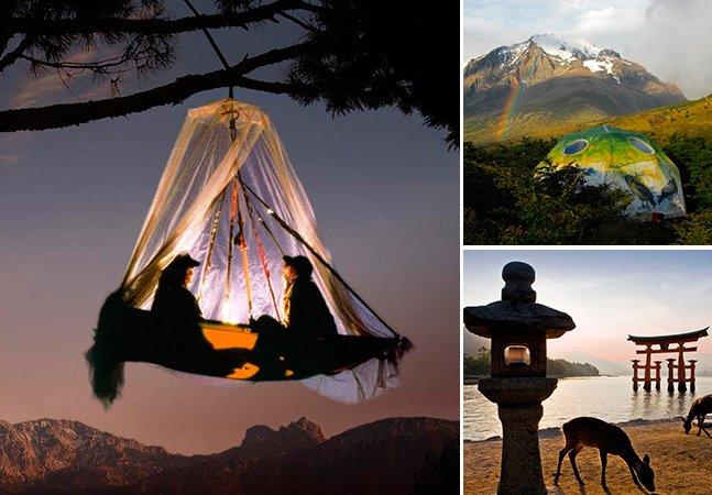 15 lugares incríveis para acampar perto da natureza