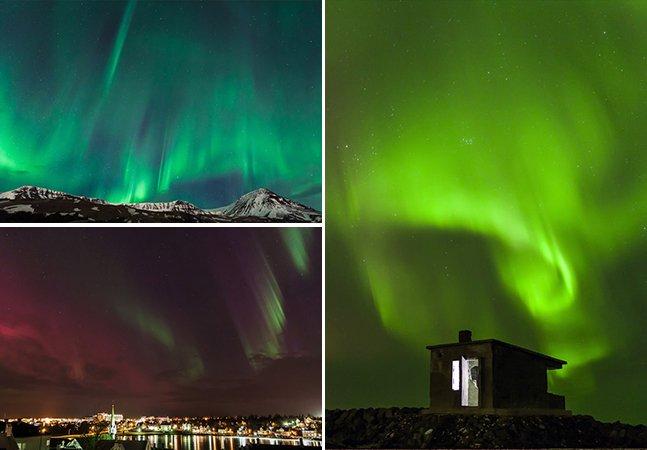 Este timelapse de auroras boreais vai te fazer querer viajar para a Islândia o quanto antes