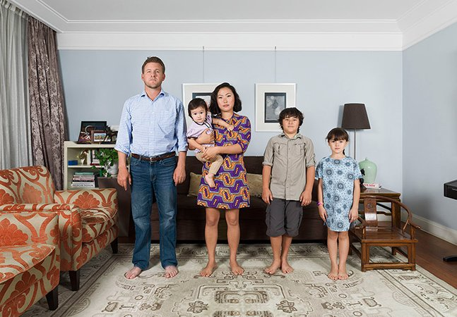 Série de fotos mostra a beleza da mistura de etnias dentro de famílias