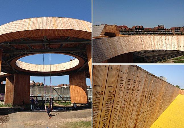 Moradores se unem para construir ponte de madeira com crowdfunding e renovam área da cidade que estava esquecida