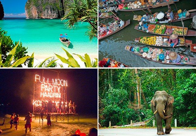 10 programas imperdíveis pra se fazer na Tailândia