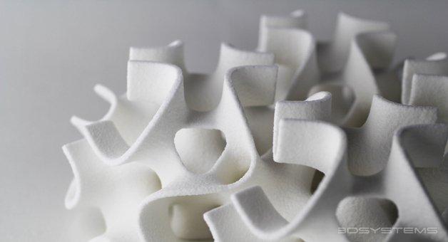 Cubos de açúcar impressos em 3D