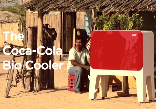 Coca-Cola cria refrigerador que não precisa de energia elétrica para funcionar