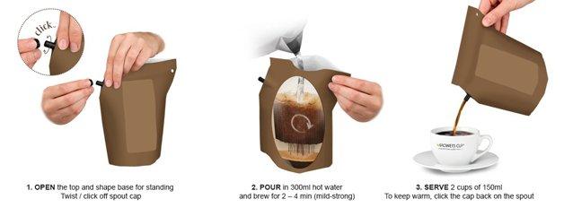 Cafeteira descartável