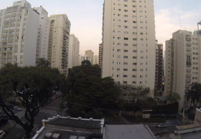 Isto é o que acontece em São Paulo quando o Brasil marca um gol