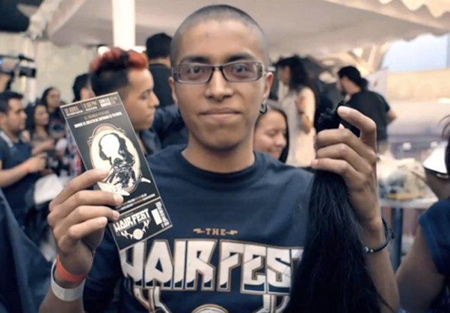 Em vez de dinheiro, festival de metal cobra ingressos com cabelo para amenizar a dor de crianças com câncer