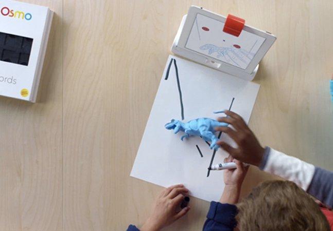 Aplicativo inovador leva brincadeiras e objetos reais ao mundo virtual das crianças