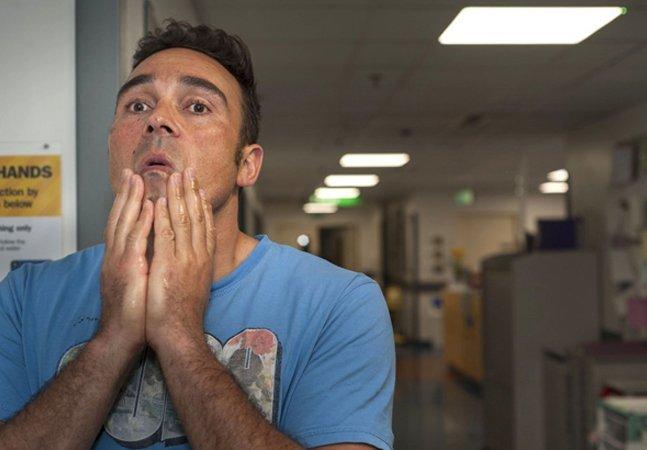 Fotógrafo capta a emoção de homens minutos após se tornarem pais