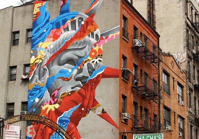 Conheça o graffiti incrível do artista que se inspira em animes e ficção científica