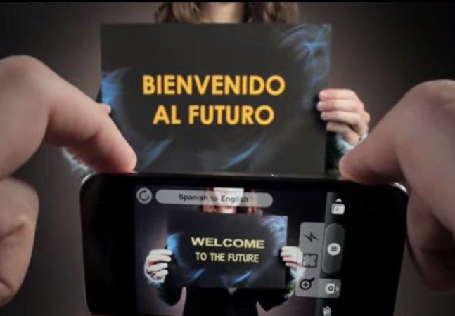 App inovador traduz textos em tempo real usando apenas a câmera do smartphone