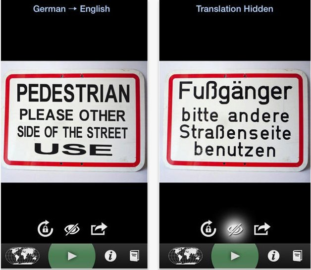 Word Lens traduz em tempo real