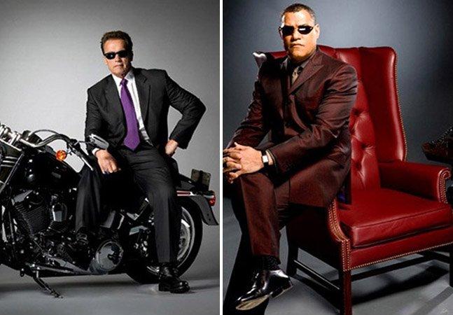 Revista faz ensaio com atores revivendo seus personagens mais famosos