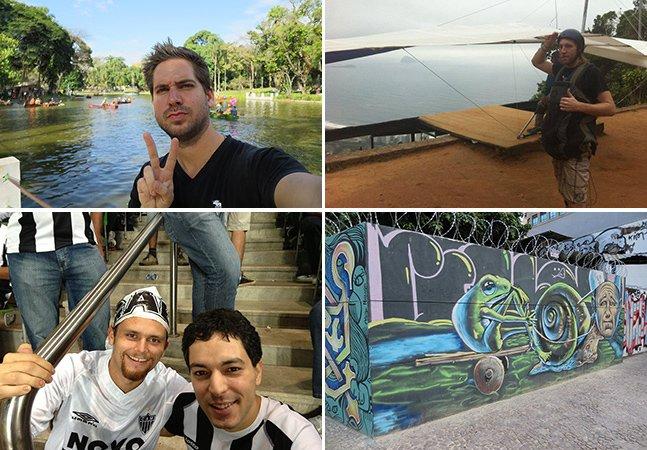 Porque estes quatro nômades digitais escolheram deixar seus países para ir morar em Belo Horizonte