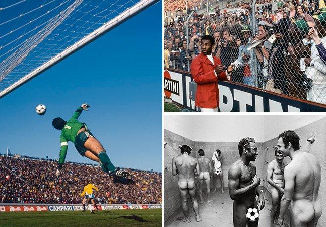 Livro reúne imagens lendárias e mostra como era a Copa na década de 70