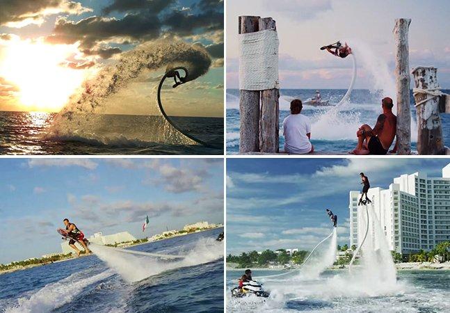 Skate inovador permite fazer manobras impressionantes na água