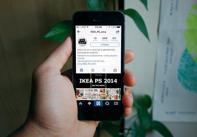 Como a IKEA transformou sua conta no Instagram em um 'website'