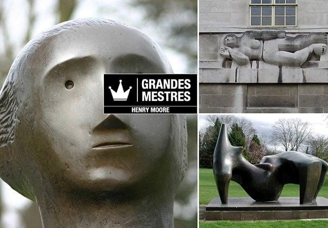 Grandes Mestres: As esculturas surreais de Henry Moore inspiradas na natureza