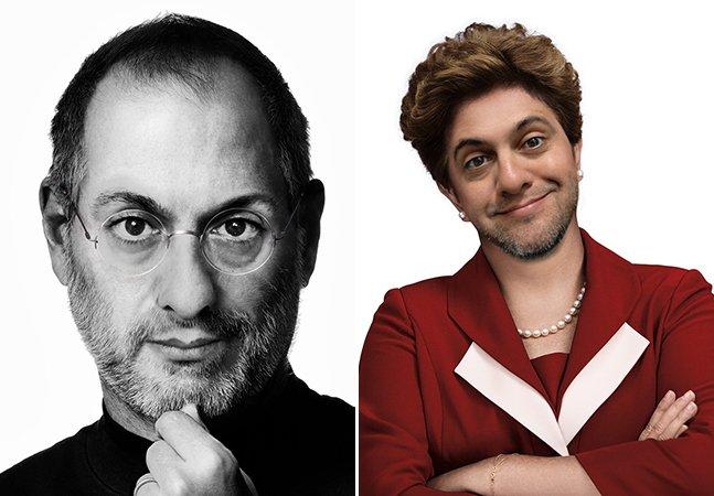 Publicitário brasileiro se transforma em diversas personalidades e faz sucesso nas redes sociais