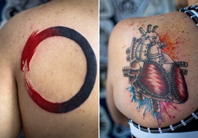 Arte na pele: as tatuagens coloridas do brasileiro John Dois