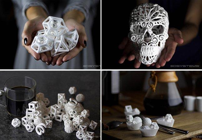 Arte em 3D feita com cubos de açúcar vai deixar seus bolos muito mais criativos