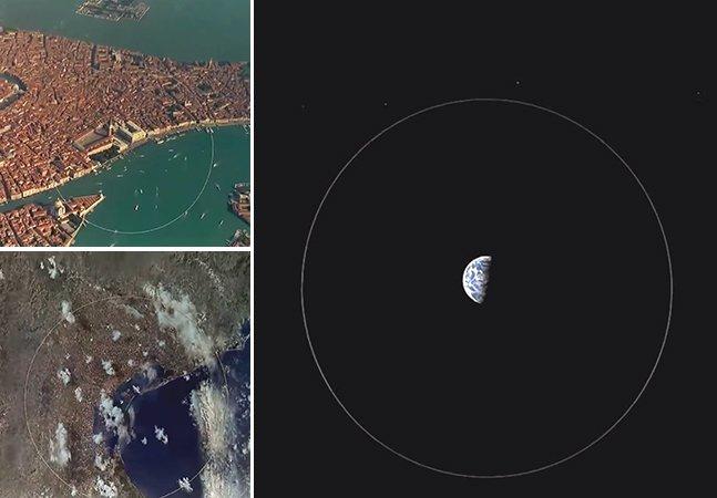 Vídeo mostra o que significam seus problemas em comparação com o tamanho do universo