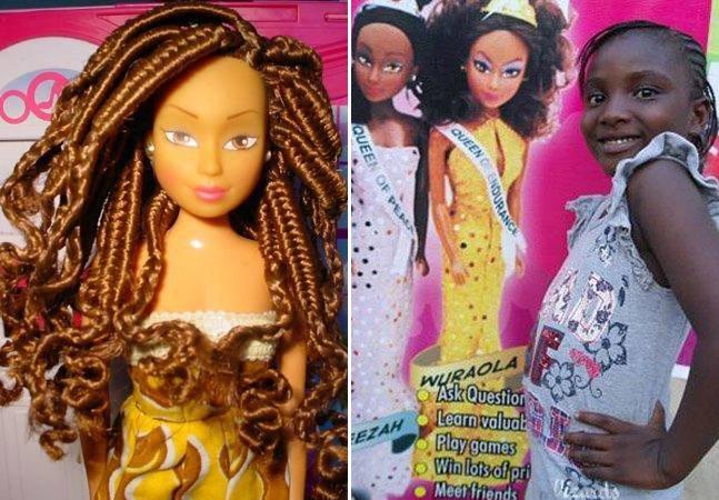 Homem lança bonecas negras na Nigéria para combater o preconceito e já vende mais que a Barbie no país