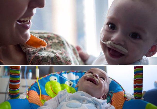Campanha busca financiamento coletivo para pagar transplante raro de bebê
