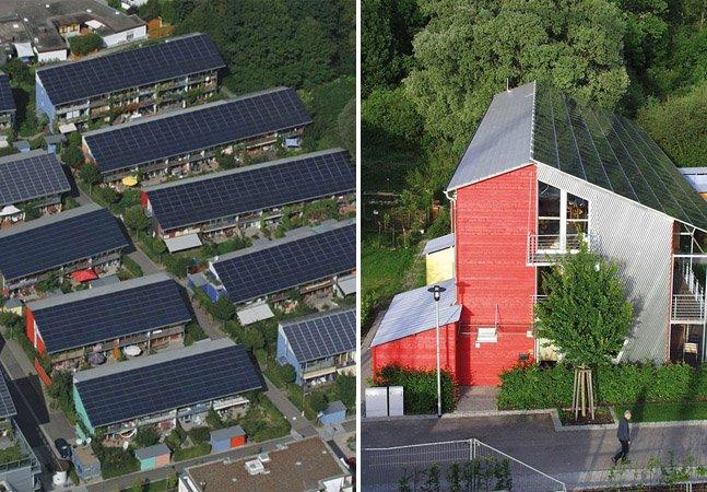 Este bairro na Alemanha é capaz de produzir quatro vezes mais energia do que a que consome