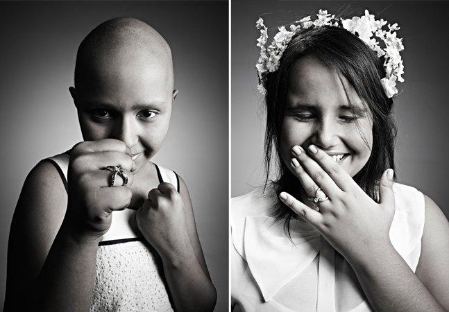 Campanha emocionante transforma cabelo de vítimas de câncer em diamantes